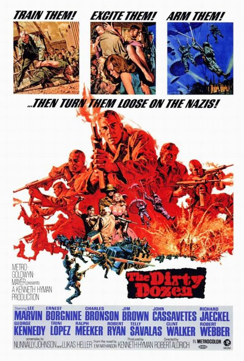 The Dirty Dozen (1967) art by Frank McCarthy