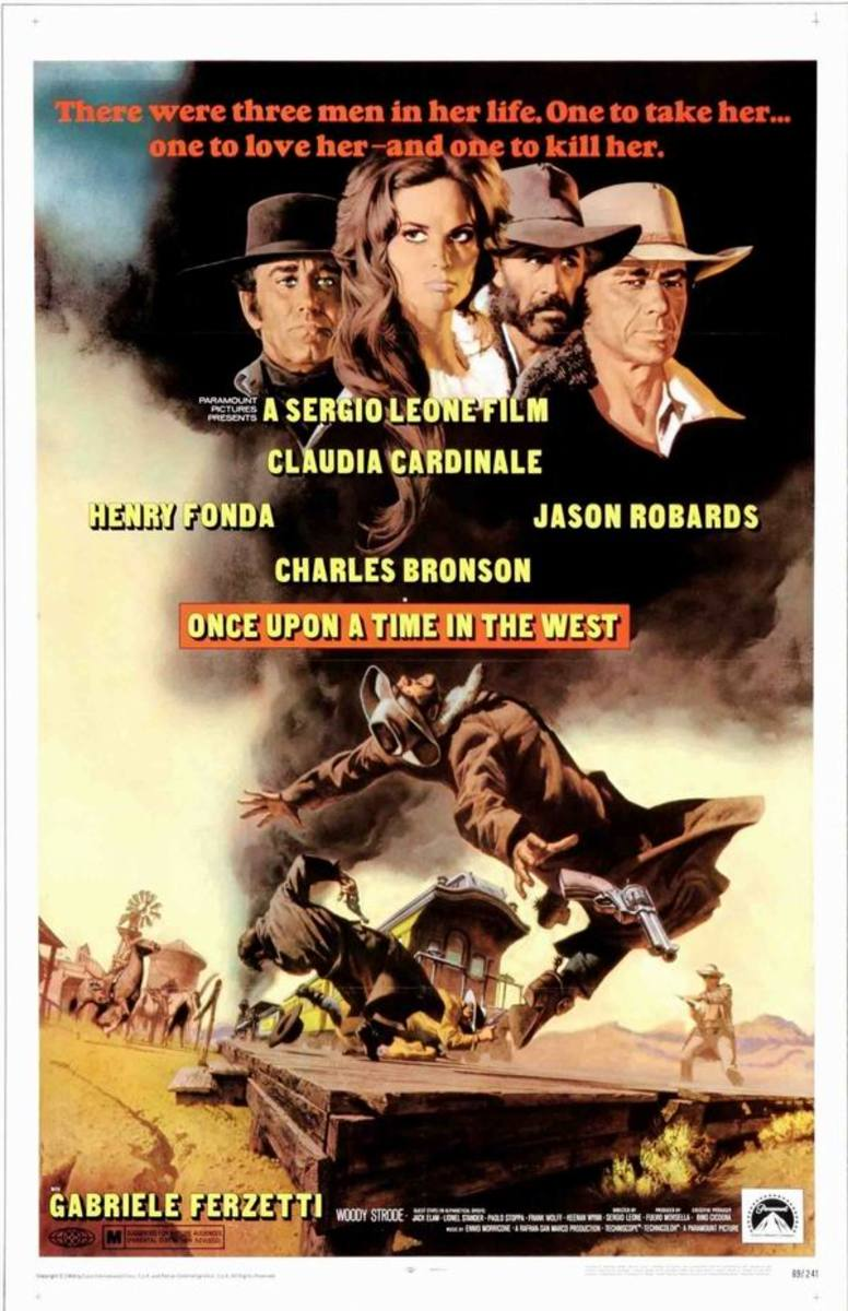 Once Upon a Time in the West (1968) art by Frank McCarthy