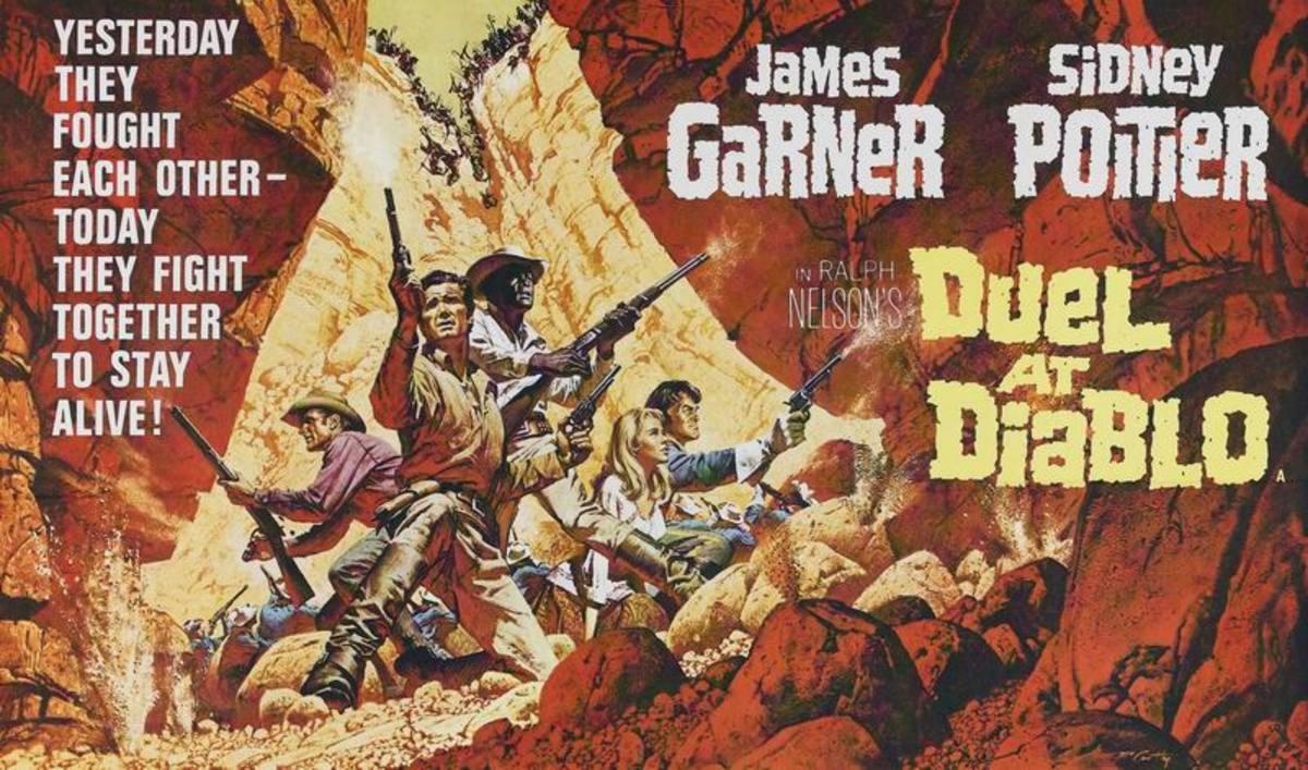 Duel at Diablo (1966) art by Frank McCarthy