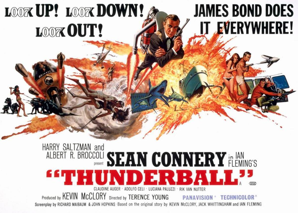 Thunderball (1965) art by Frank McCarthy