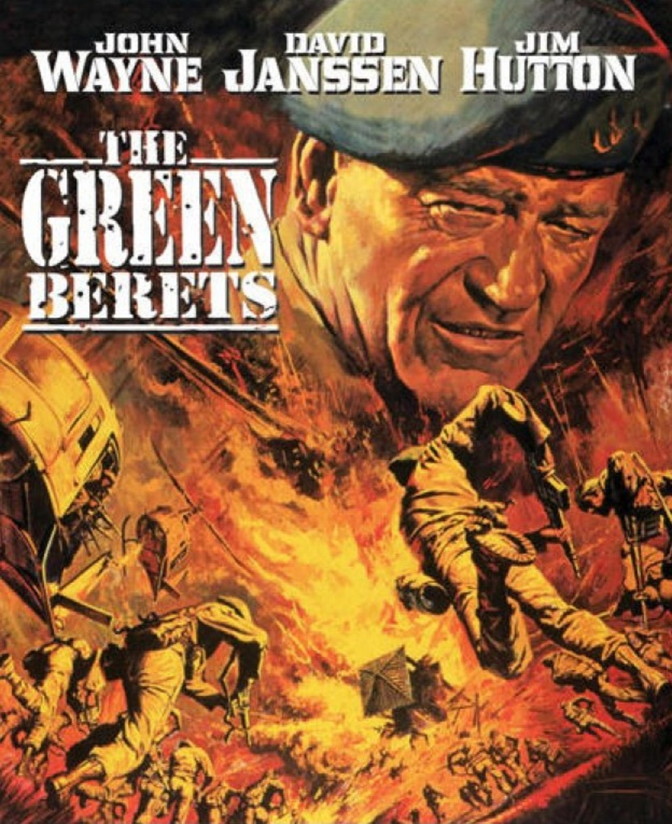The Green Berets (1968) art by Frank McCarthy