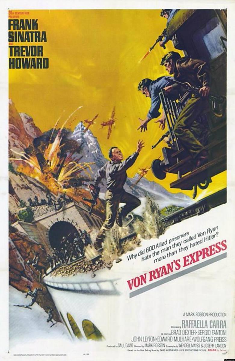 Von Ryan's Express (1965) art by Frank McCarthy