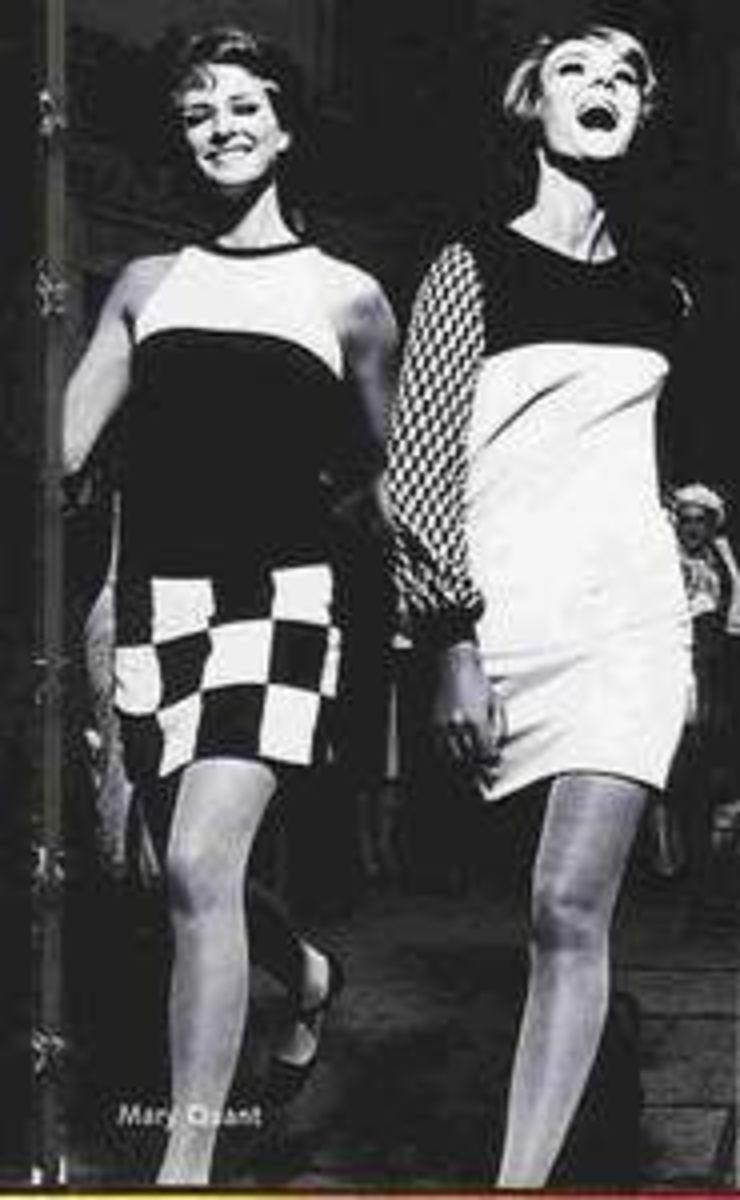 mary quant mini skirt
