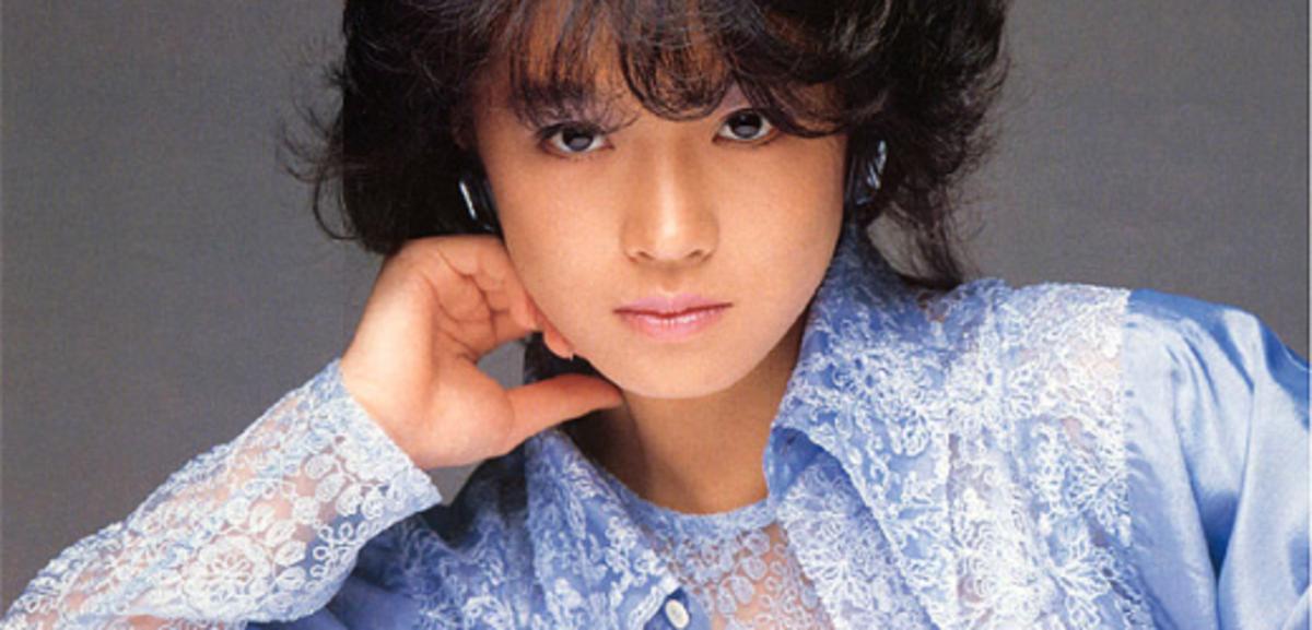 Akina Nakamori in the 1980s.