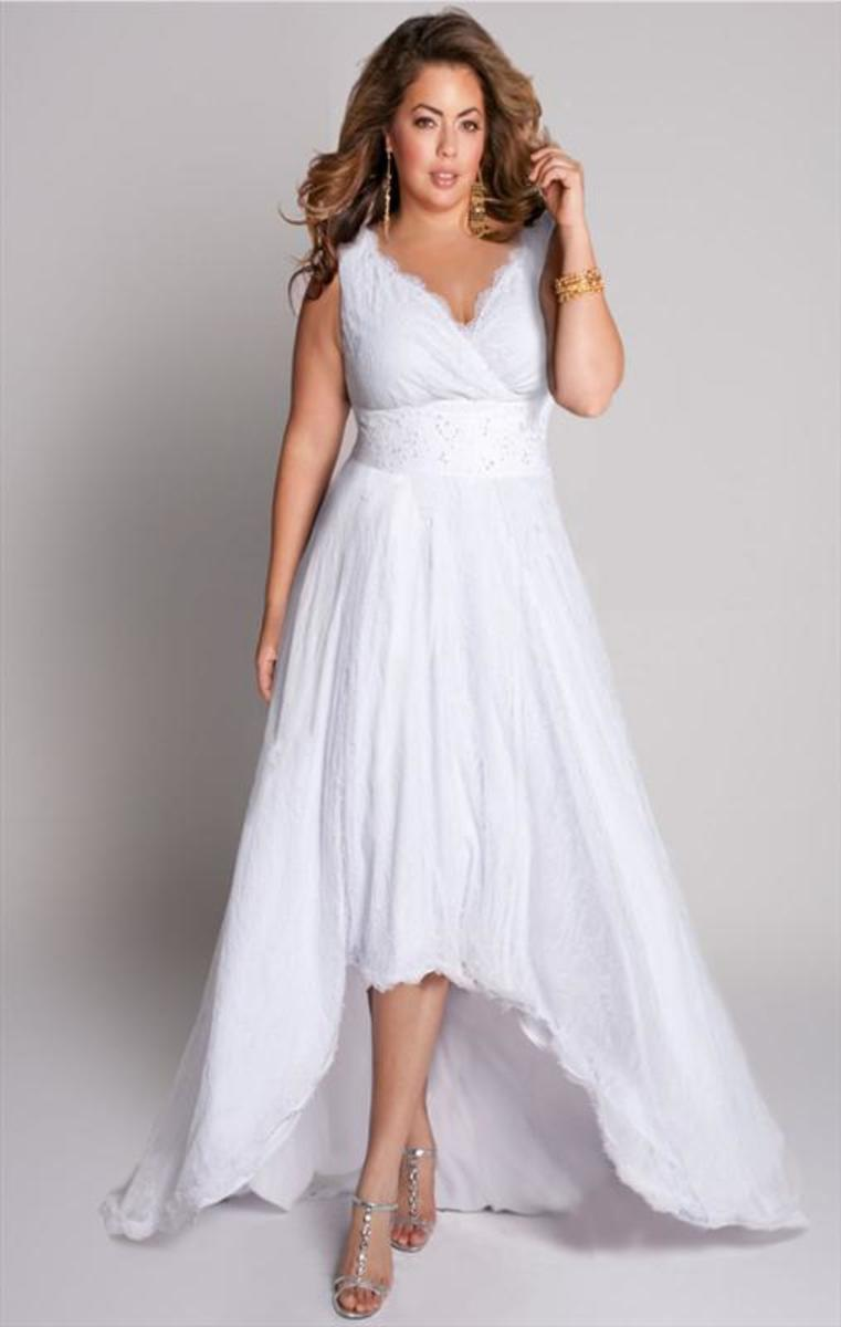 Modern plus size wedding dresses for Beach plus size wedding dresses