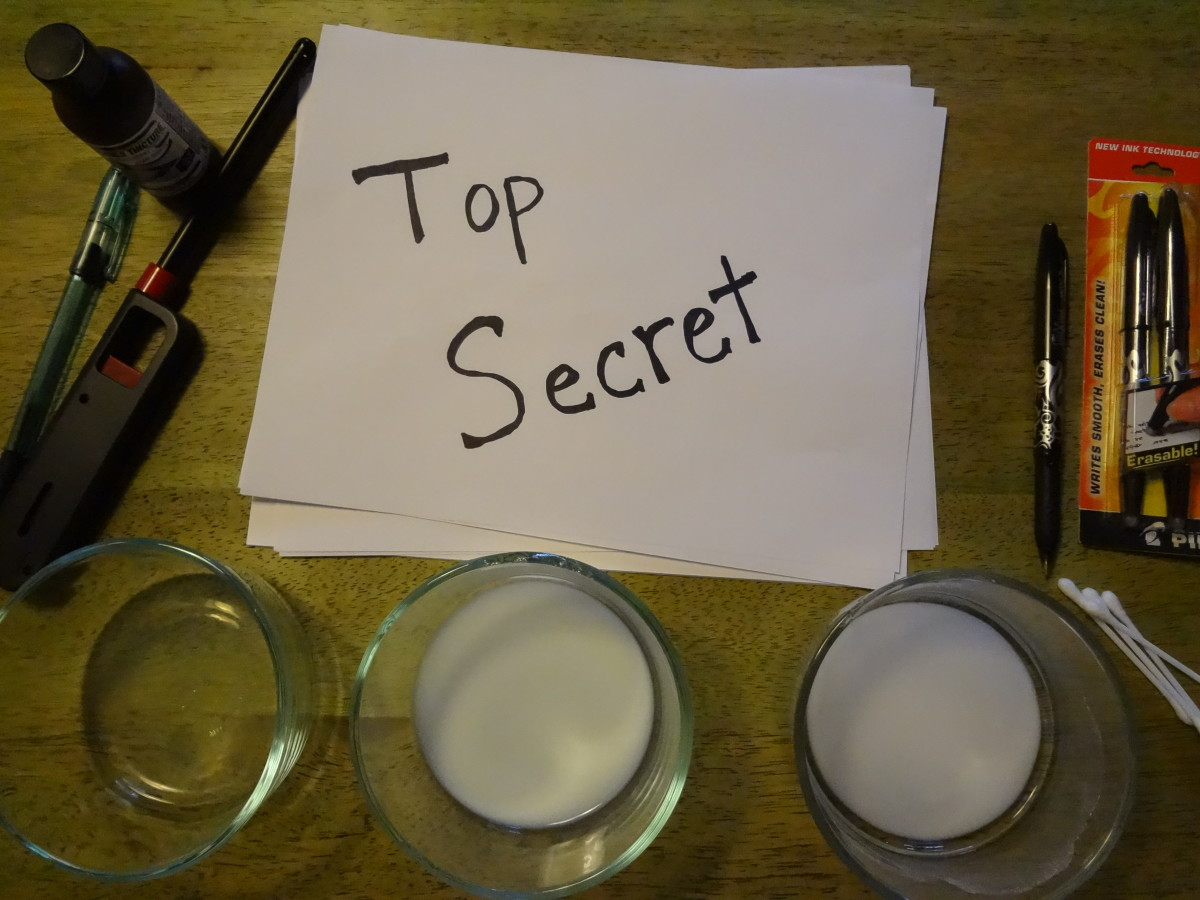 how to make invisible ink 9 fun ways hubpages. Black Bedroom Furniture Sets. Home Design Ideas