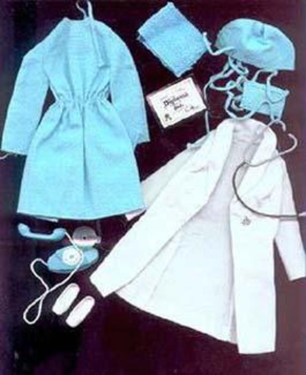 """Get Ups 'N Go; """"Doctor"""" Barbie, #7700"""
