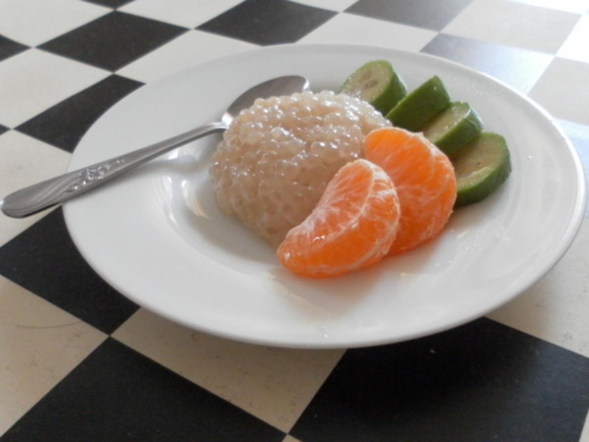 Hot and Cold Sago Pearls Dessert Recipes