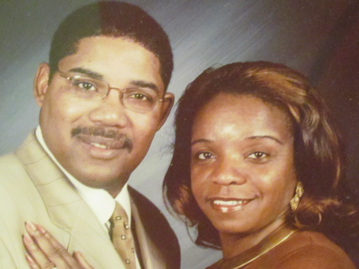 My dear husband  Walker Carter, who I desperately love and miss. I know that he is in Jehovah's memory and he will be resurrected in the future on paradise earth where death and sickness will no longer exist just as Revelation 21:3,4 promises.