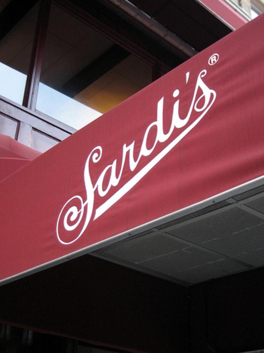 Sardi's New York.