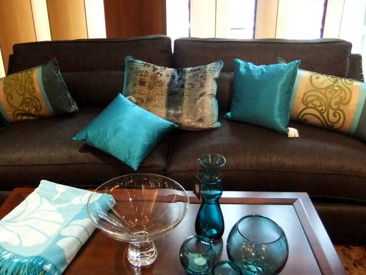 1. Decorating with throw cushions is affordable and inexpensive and can be a simple way to give your living spaces a new look