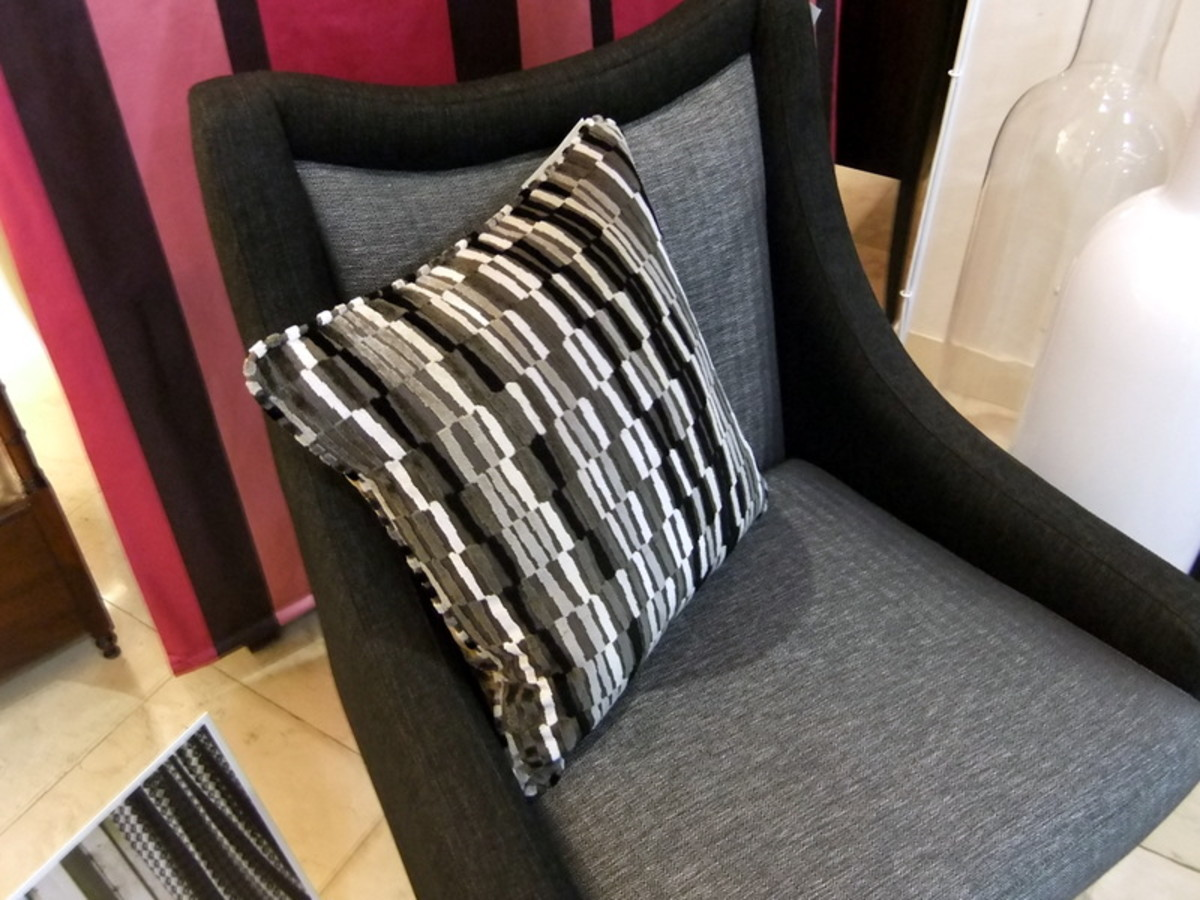 10. Is this throw cushion too big for this chair?