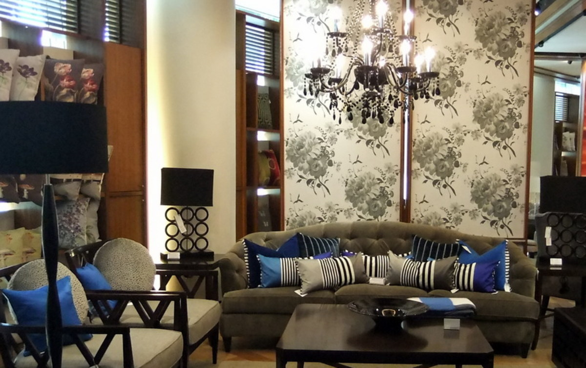 5. Tips on decorating with throw cushions: Use throw pillows and cushions as a focal point to your room