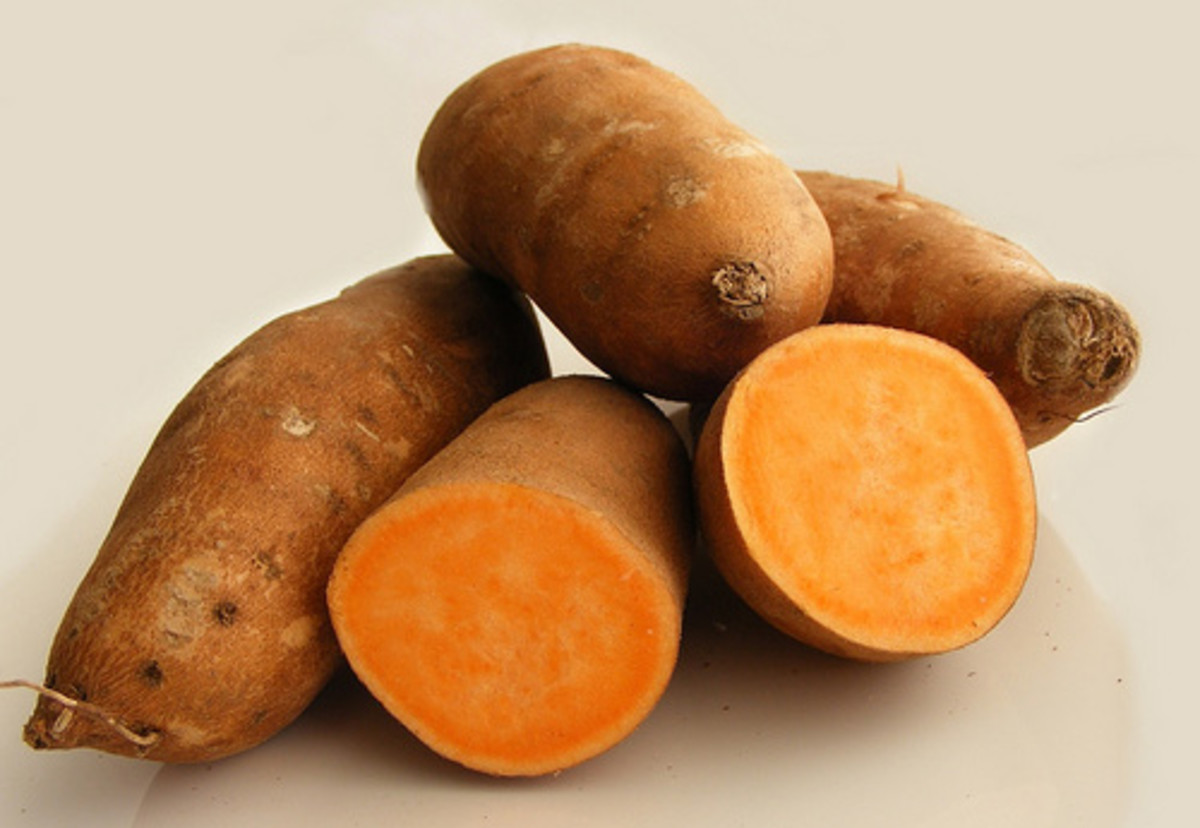The Legend of Sweet Potato