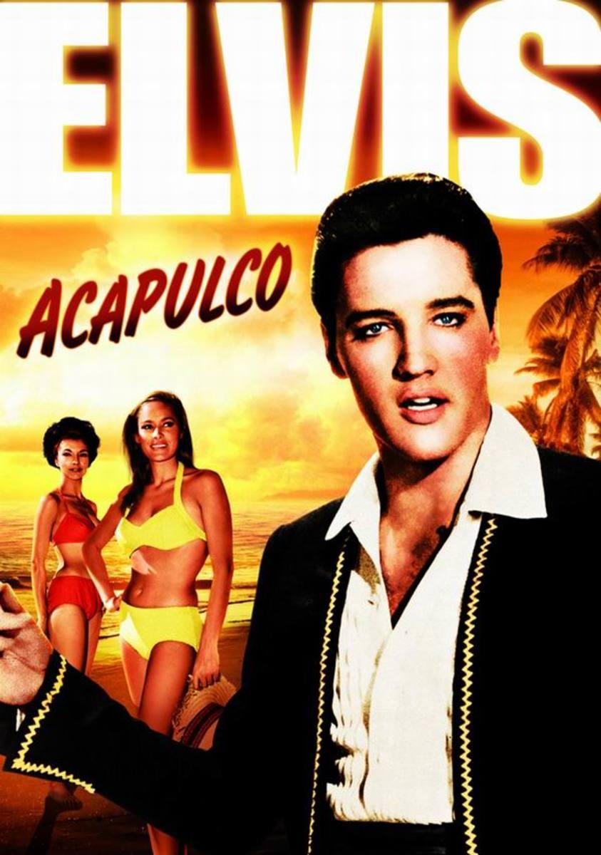 Fun in Acapulco 1964 German poster