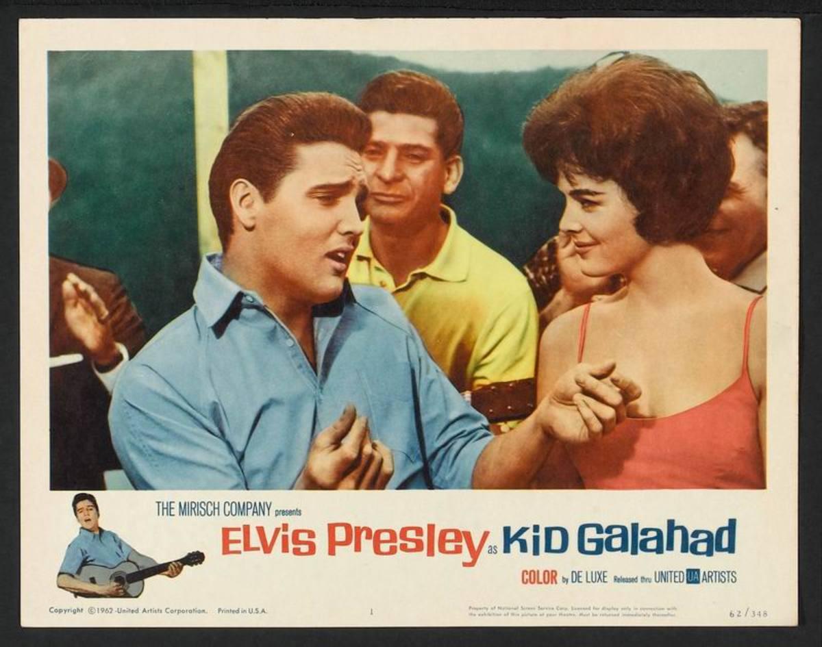 Kid Galahad 1962 lobby card