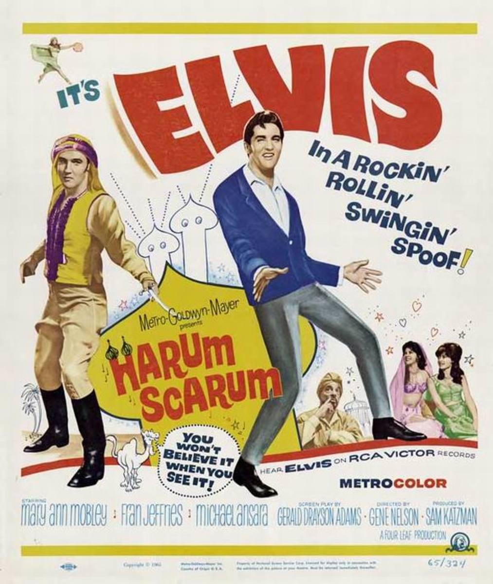 Harum Scarum 1965