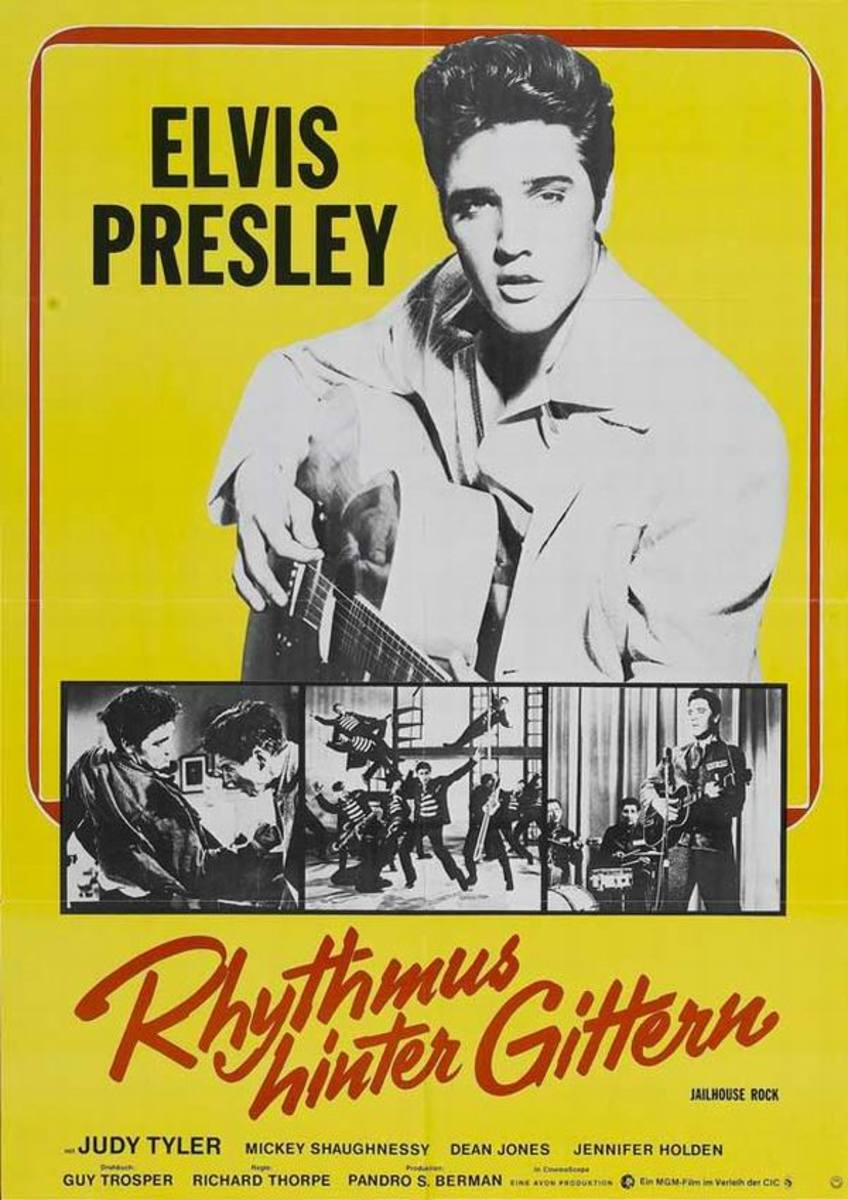 Jailhouse Rock (1957) German poster