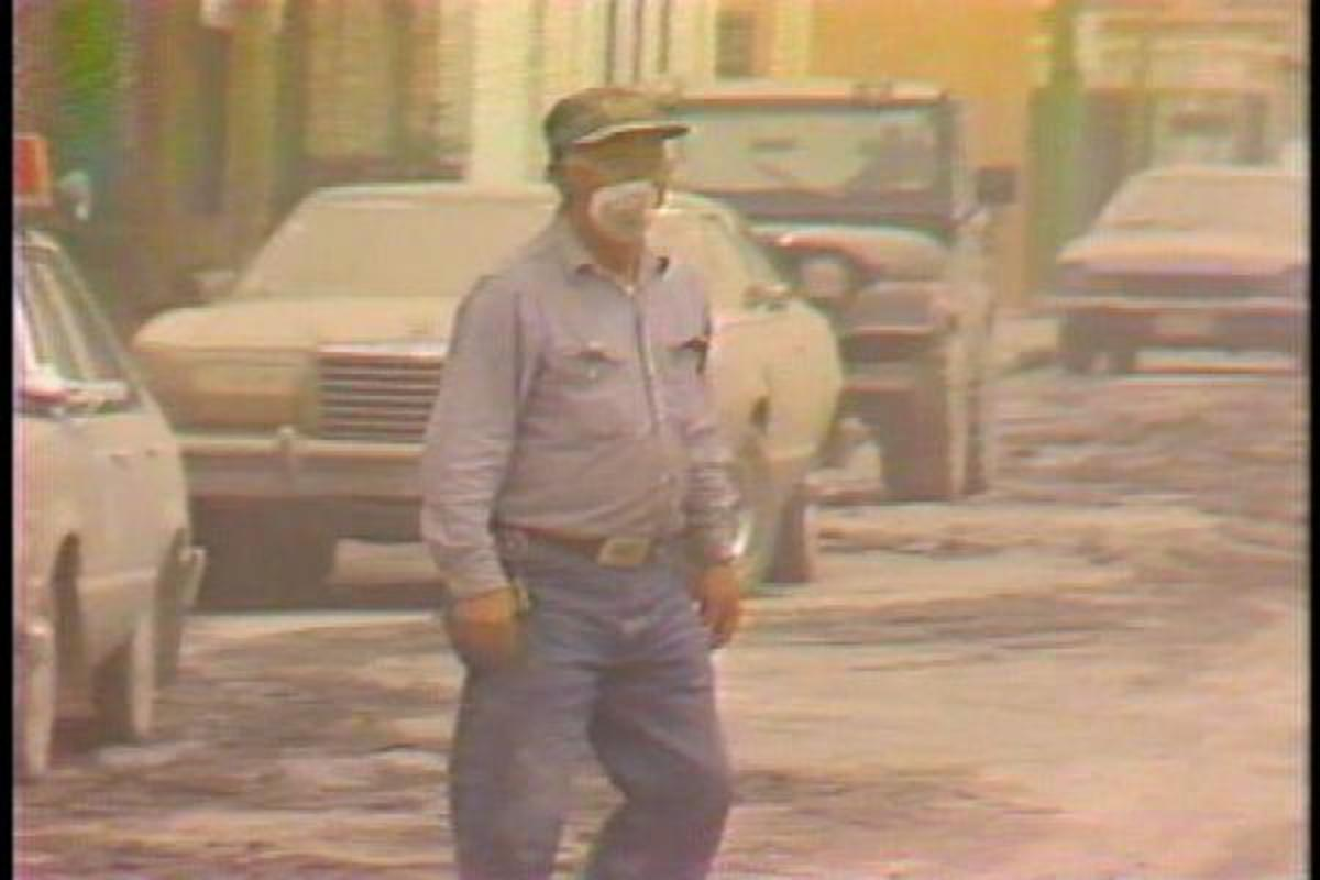 Ash Mask - Ash Covered Street