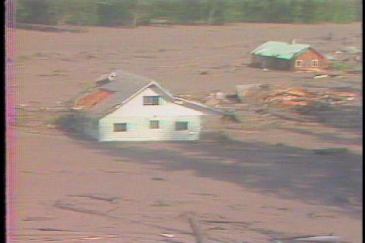 House near the Volcano