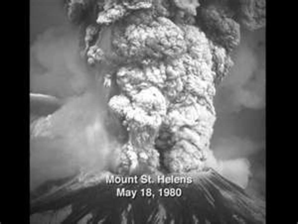The Violent Eruption