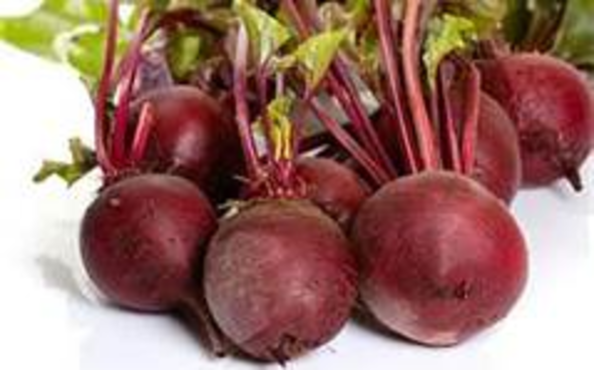 Using beets to color your hair red