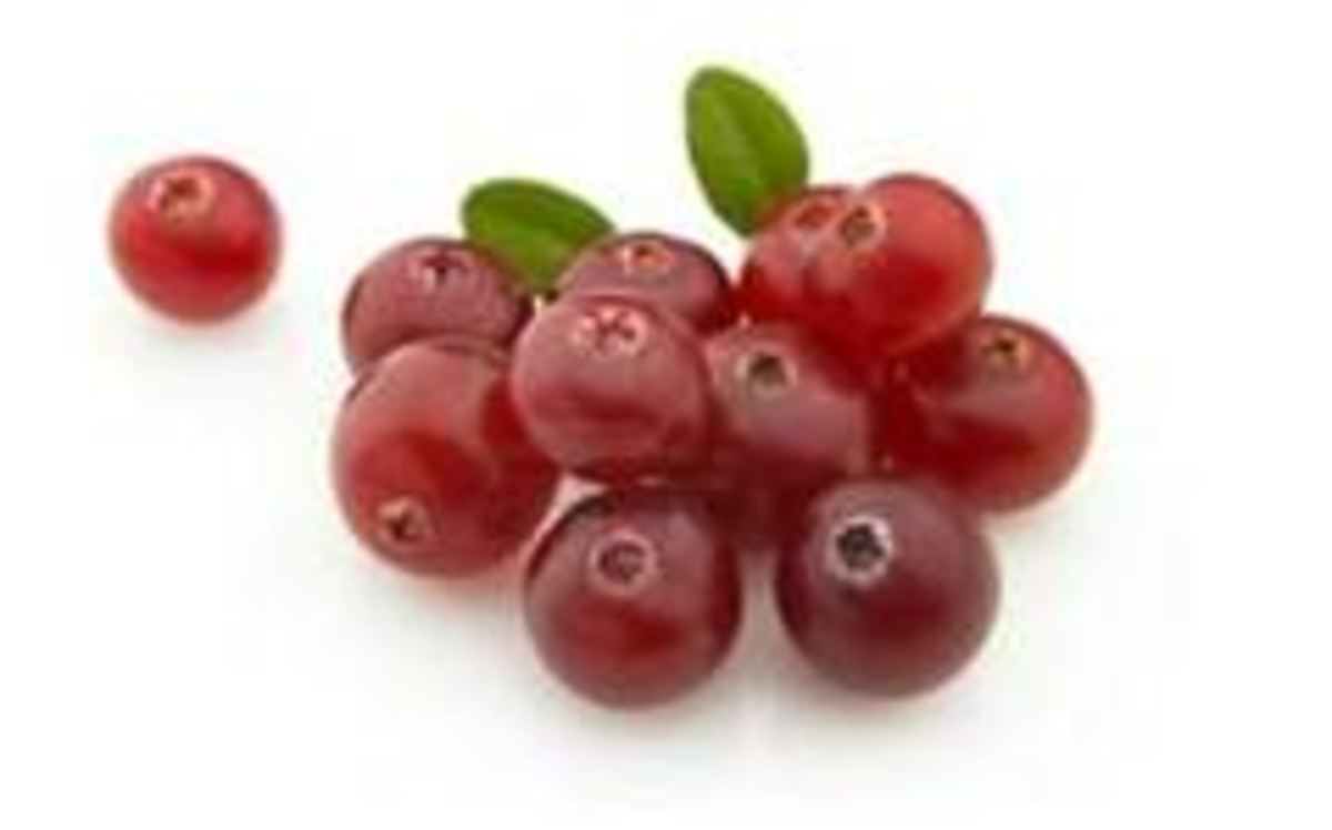 Using cranberries to dye your hair red