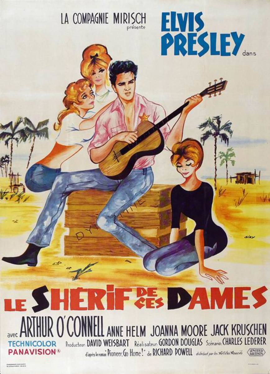 Follow That Dream 1962 French poster