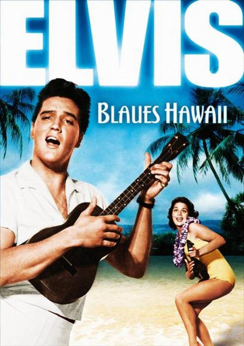 Blue Hawaii 1961 German poster