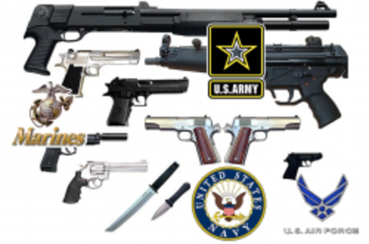 Military Firearm Serial Number