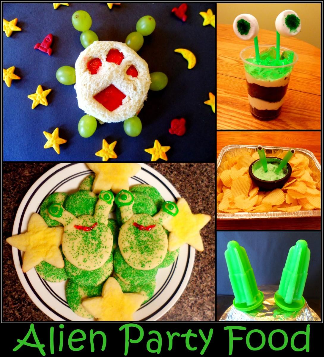 Alien Party Food Recipes