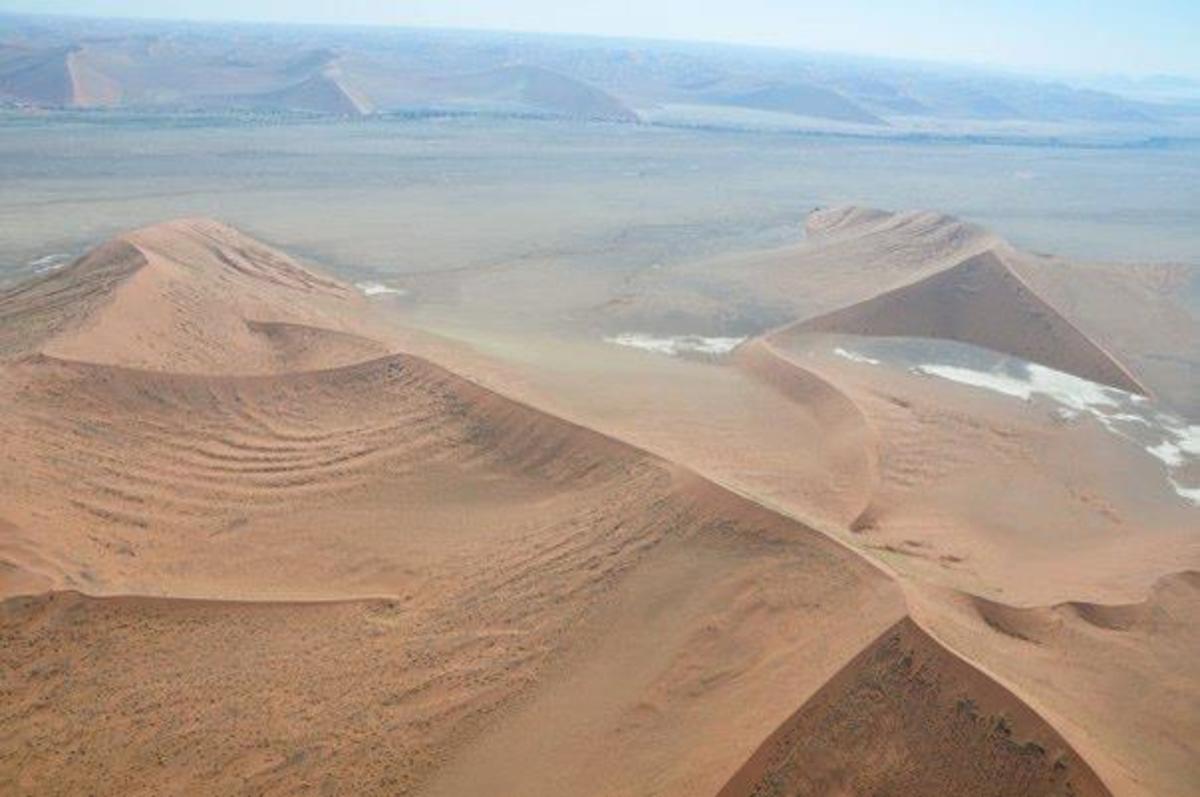 Sand dunes in the Namib Desert, Namibia © Mark Bielawny