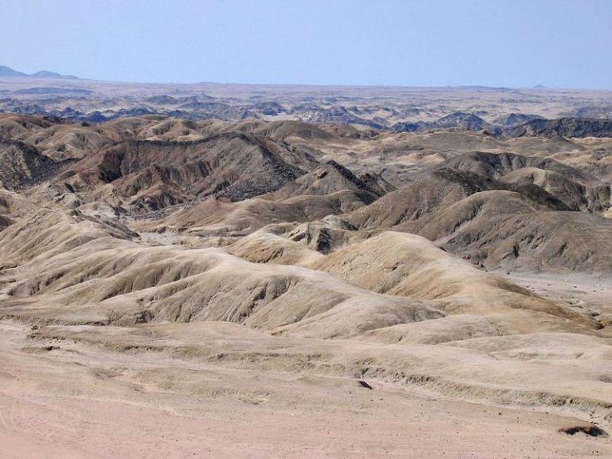 http://en.wikipedia.org/wiki/Namib_Desert