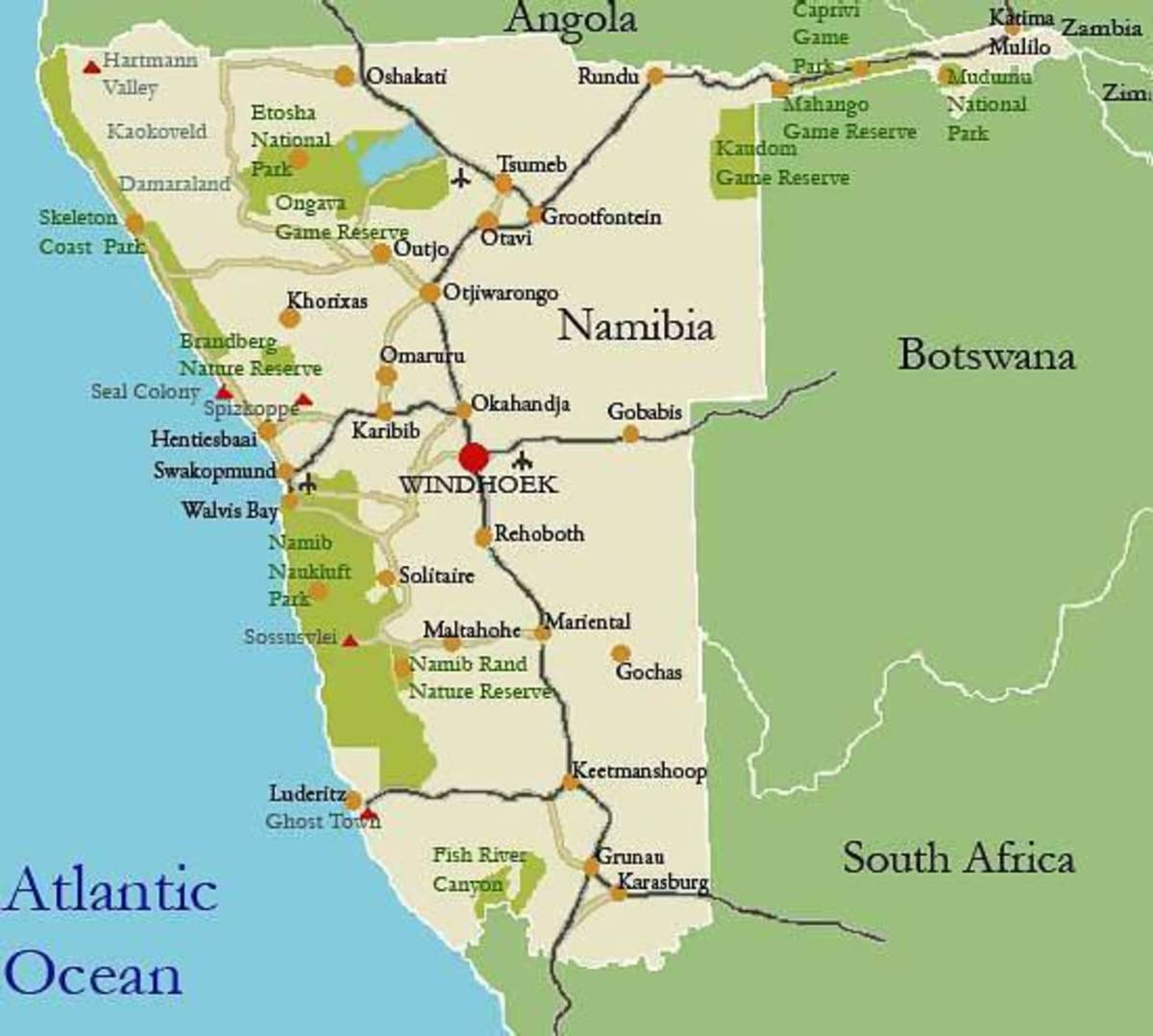 http://www.afrizim.com/Travel_Guides/Namibia/Attractions.asp