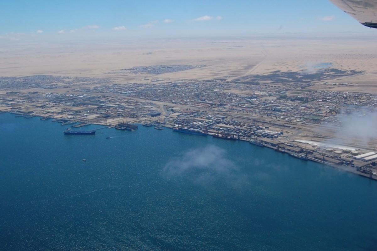 http://commons.wikimedia.org/wiki/File:Aerial_view_of_Walvisbaai_2.jpg
