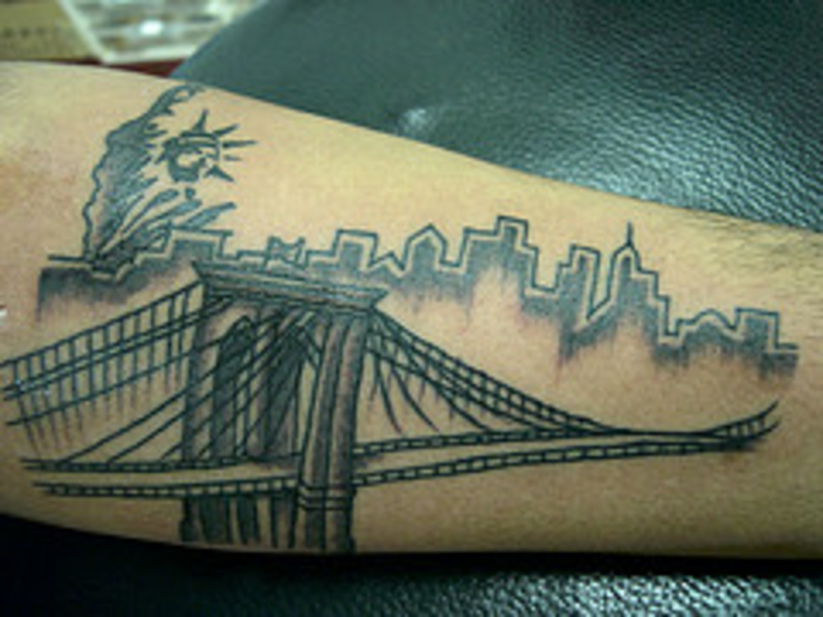 Statue of Liberty Tattoo Designs and Meanings