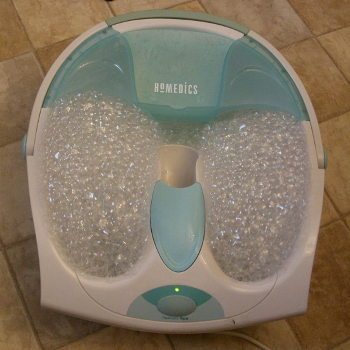 The Pedicure Tool is used with the Pedicure Spa.