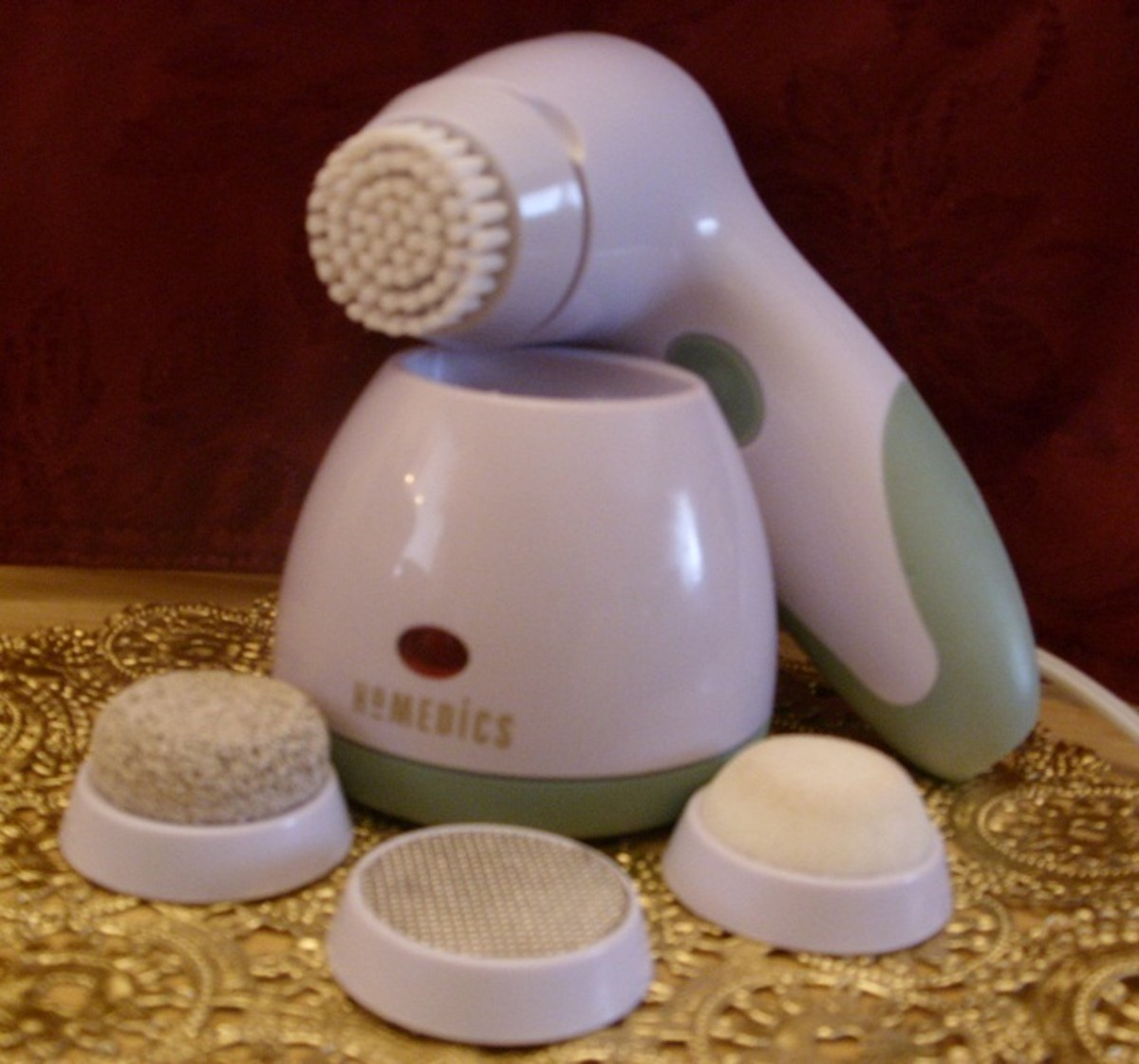 Homedics Cordless Pedicure Tool with Four Attachments