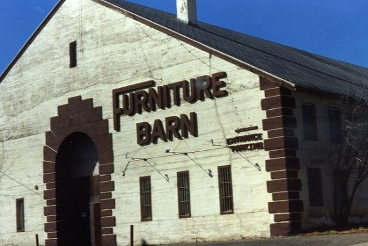 """The Flagstaff Furniture Barn """"before cow"""""""