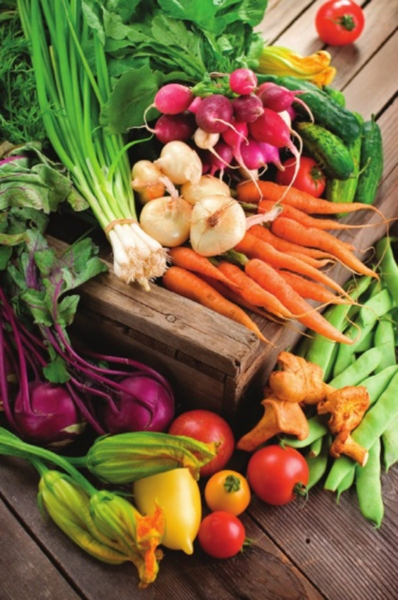 Eat a variety of vegetables to get the full spectrum of vitamins and antioxidants.