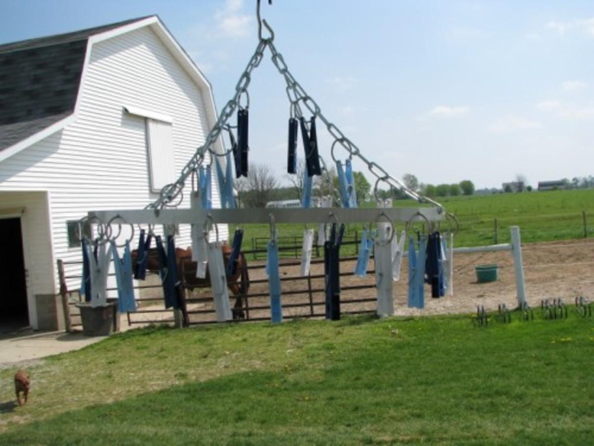 Chandler Style Drying Rack