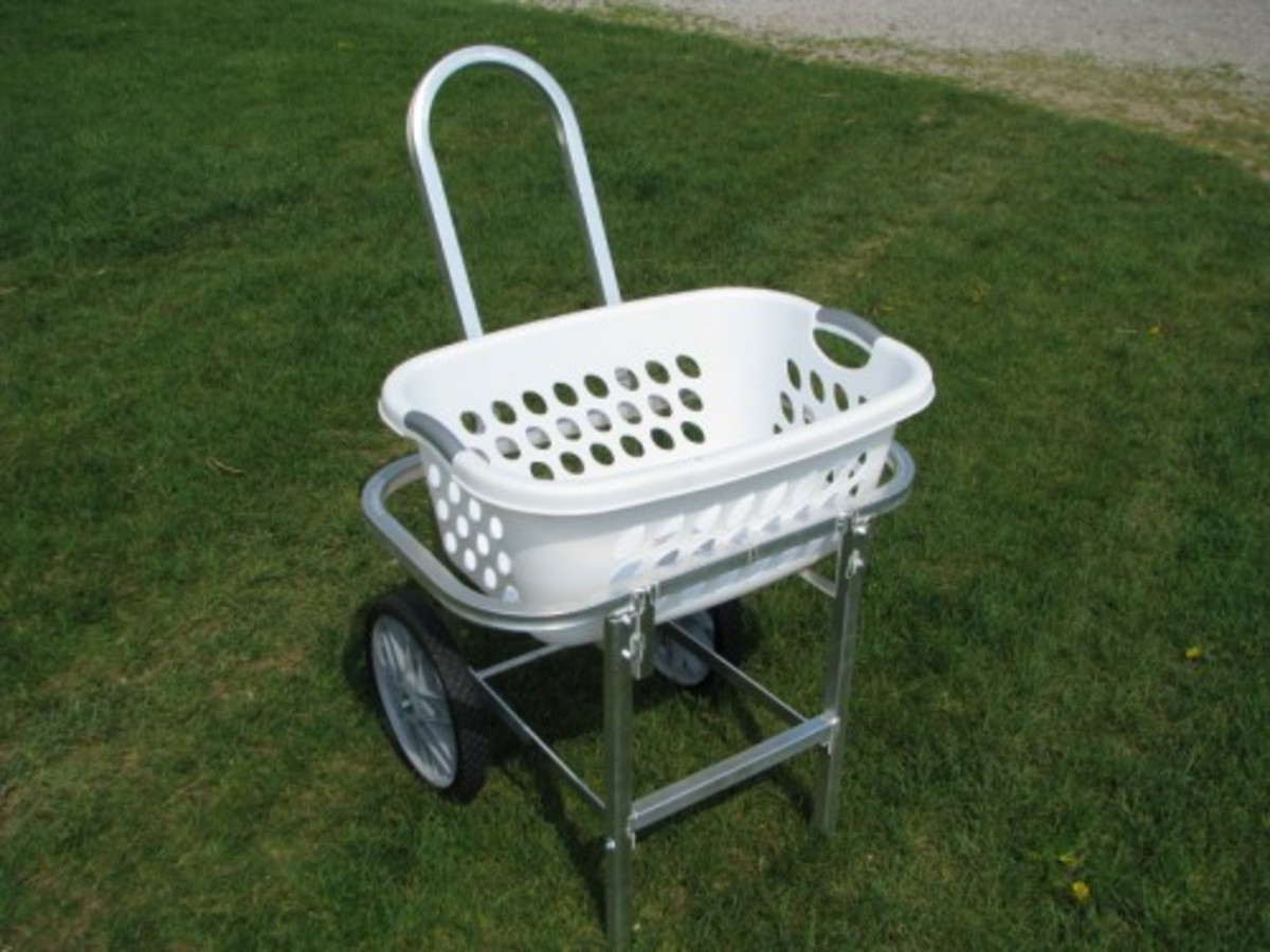 Laundry Basket Cart