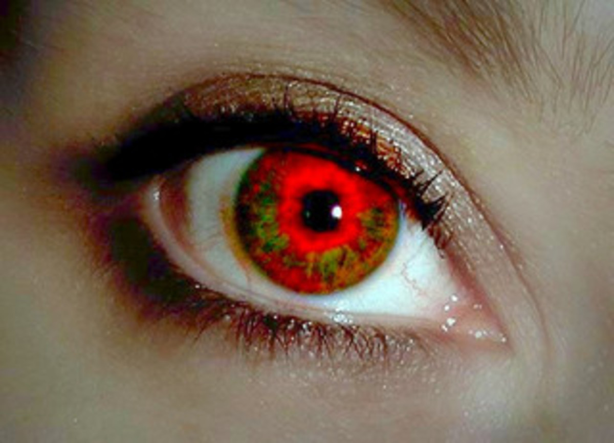 Germans Feared Red Eyes