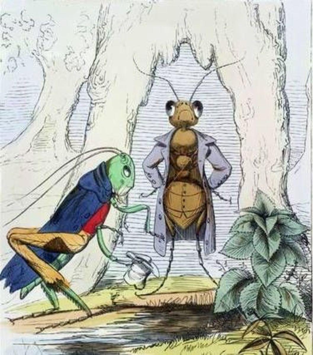 C. H. Bennett: Ant and Grasshopper