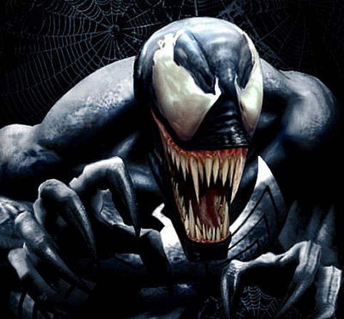 Venom, the living nightmare.