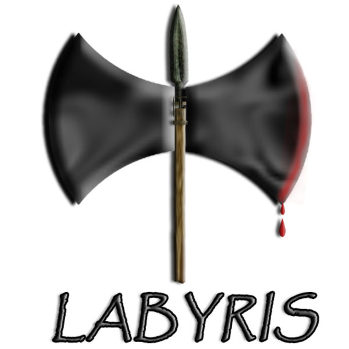 "The Amazonian double-sided axe called the ""labyris"" is a symbol of lesbian power and independence."