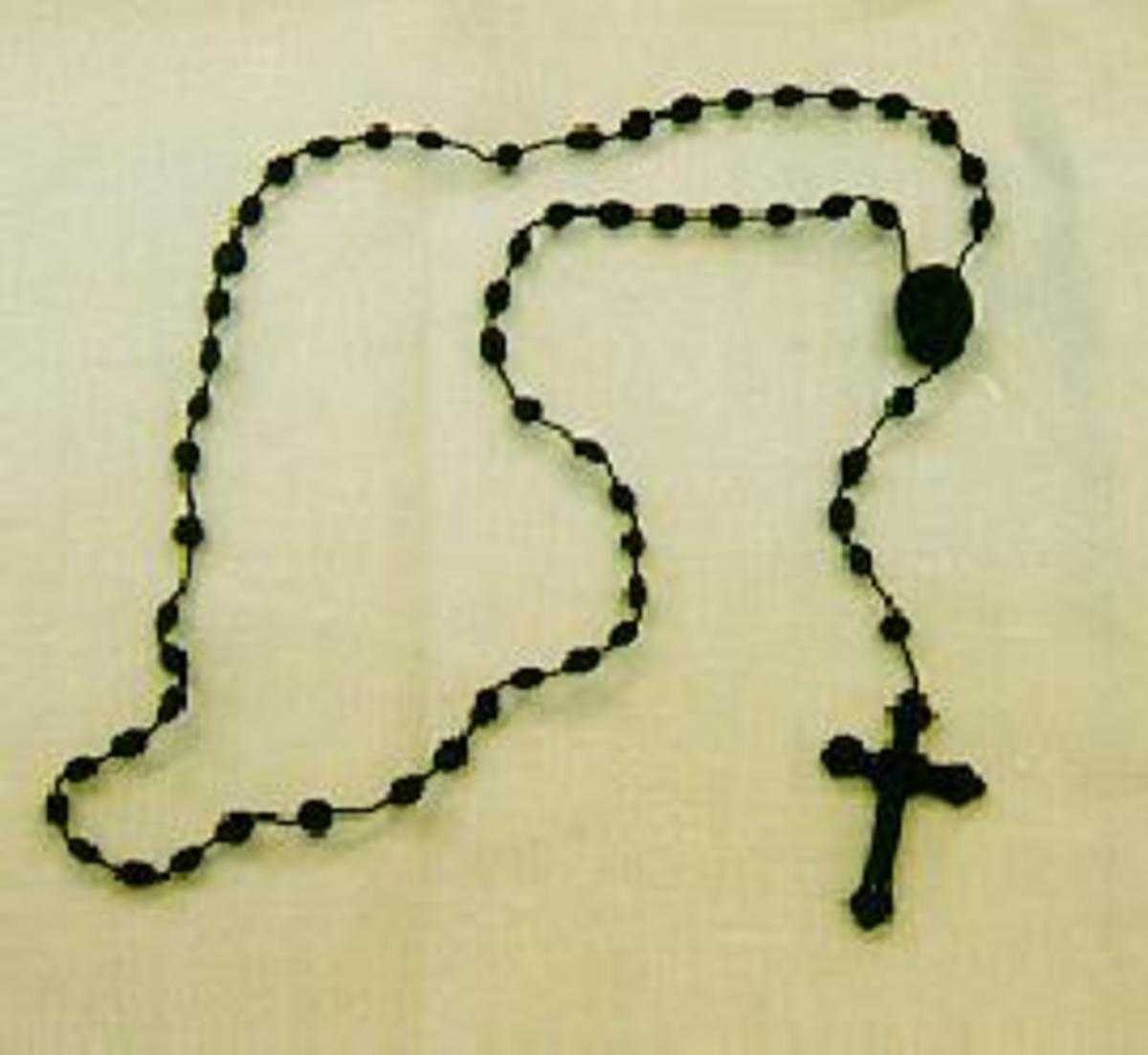 A 10-bead rosary