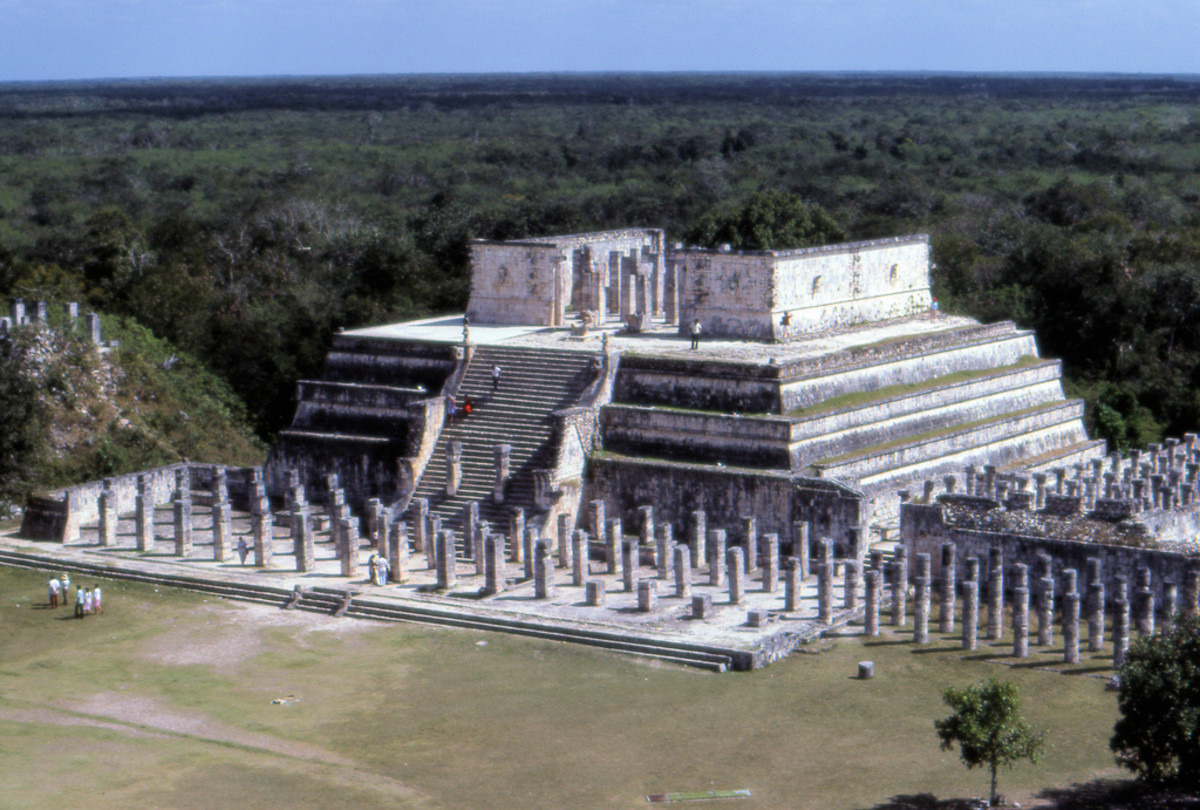 Temple of Warriors