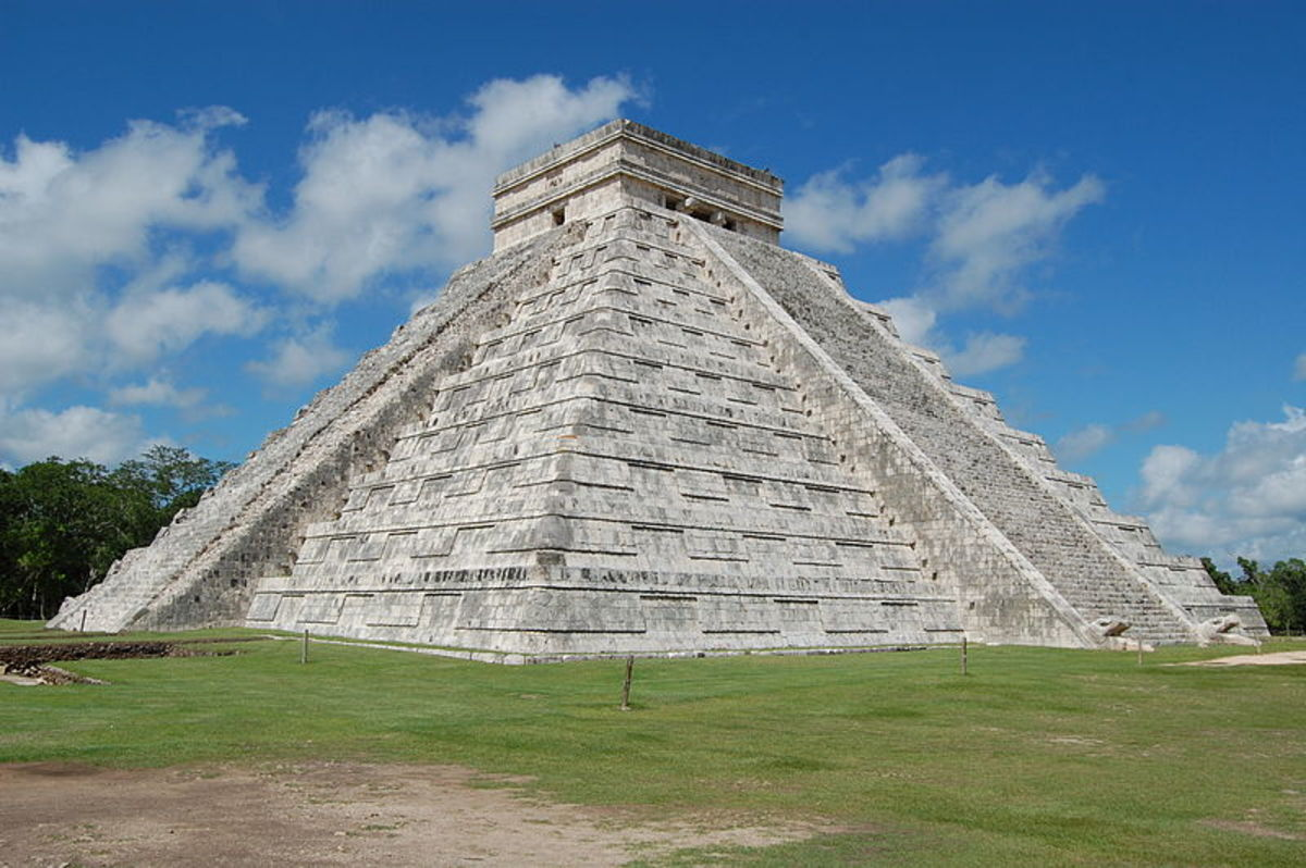 Castillo in Chichen Itza