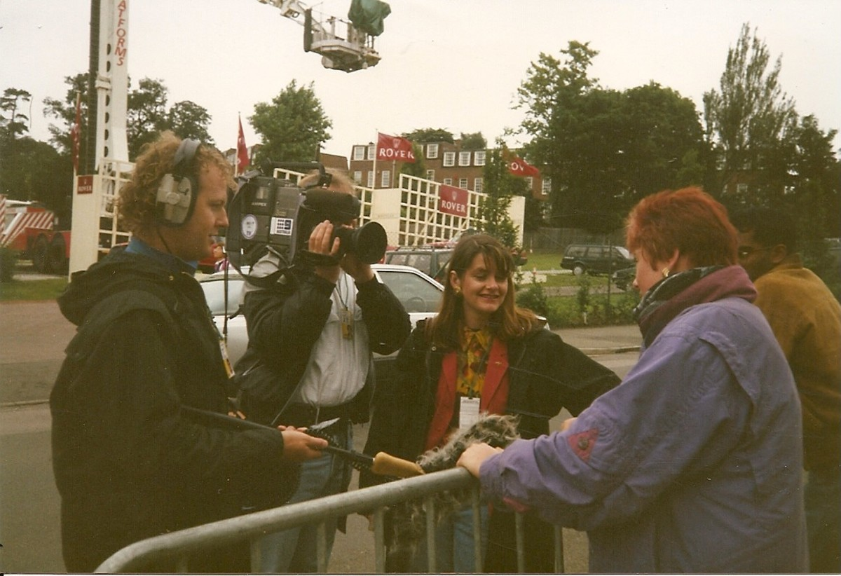 Suzie interviewed for Australian television